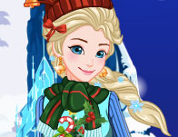 Elsa Ugly Christmas Sweater