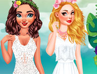 Princesses Wedding Theme Tropical